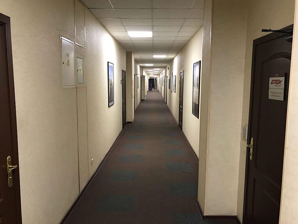 Холл в БЦ Бизнес-Депо